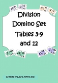 Division Domino Loop Card Set: Tables 3-9 and 12