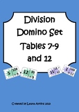 Division Domino Loop Card Set: Tables 7-9 and 12