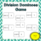 Division Dominoes Game