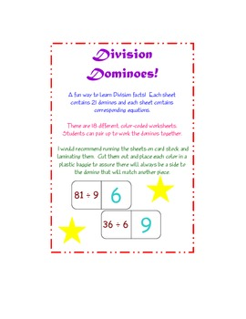 Division Dominoes is Dynamite!