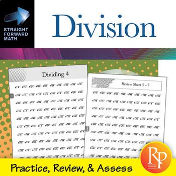 Division Drills: Straight Forward Math