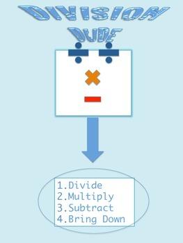 Division Dude Diagram FREEBIE!
