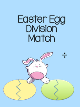 Division Easter Egg Matching Game