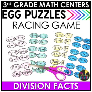 Easter Division Puzzles