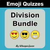 Division Emoji Quiz Bundle