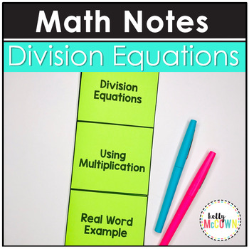 Division Equations Notes