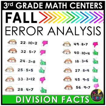 Division Error Analysis Fall Game