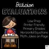 Division Evaluations