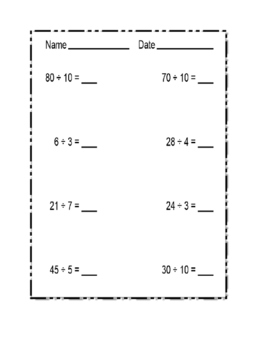 Division-Exercises