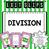 Division Exit Tickets
