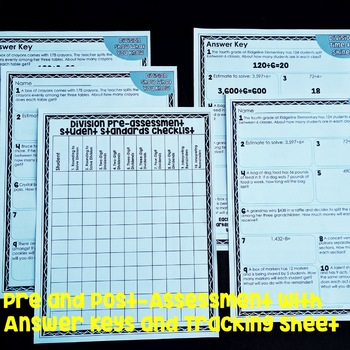Division Exit Tickets FREEBIE