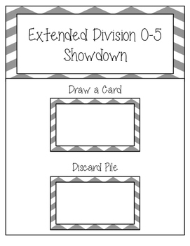 Division Extended Facts 0-5 Showdown