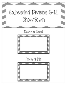 Division Extended Facts 6-12 Showdown