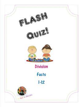 FLASH Quiz! - Division: Factors 1-12