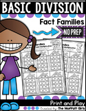 Division: Fact Families