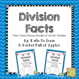 Division Fact Families: Cooperative Learning Peer-Check-Re
