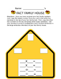 Division Fact Family Houses