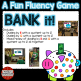 Division Fact Fluency 11, 12 and Mixed to 12 Interactive Game