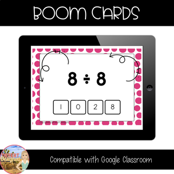 Division Fact Fluency - Divisors of 8 & 9 - Boom Cards