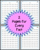 Division Fact Fluency Timed Tests - Vertical 100