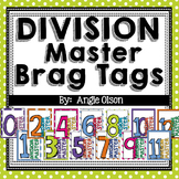 Division Fact Master Brag Tags