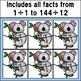 Division Fact Match Puzzles (Koala Theme)