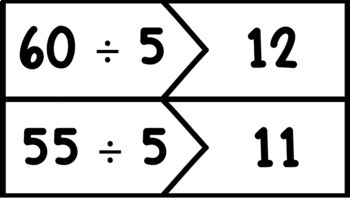 Division Fact Puzzles - 1's through 12's