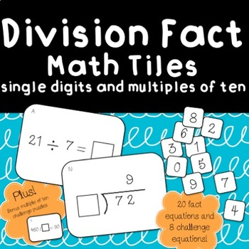 Division Fact Tiles