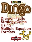 Division Fact and Division Format Game: DINGO!