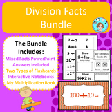 Division Facts 1-12 Bundle – Memorization & Practice –No P
