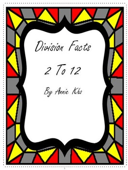 Division Facts 2 - 12