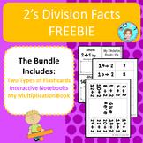 Division Facts: 2's – Memorization & Practice  – No Prep,