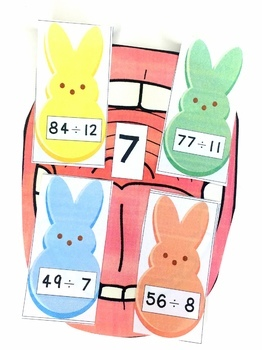 Easter Division Facts Game