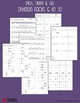 Division Facts Practice - Dividing by 6 to 10 - Worksheets