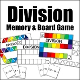 Division Math Game {Board Game + Flash Cards}