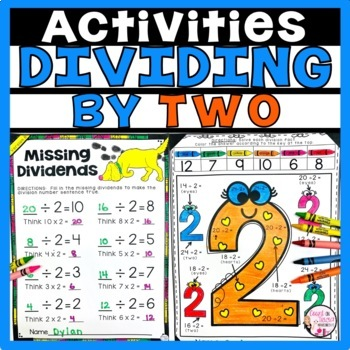 Division Facts Activities Dividing by 2