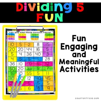 Division Facts Activities Dividing by 5