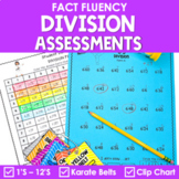 Division Facts Assessments and Brag Tags