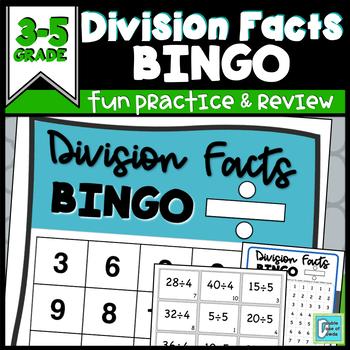 Division Facts BINGO