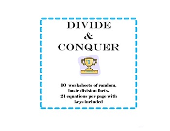 Division Facts Conquered!