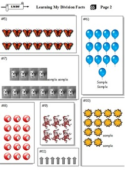 Division Facts Early Learning