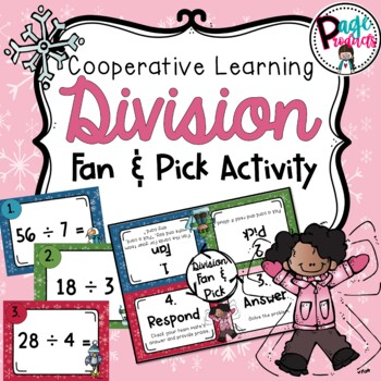 Division Facts Fan and Pick Cooperative Learning Activity