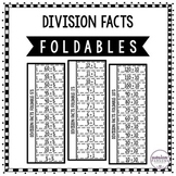 Division Facts Flip Book