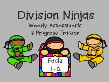 Division Facts: Fluency Quizzes