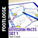 Division Facts Footloose - Task Card Math Game