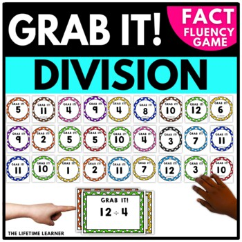 Division Facts Game