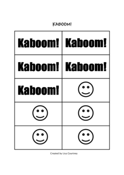 Division Facts Game / Activity - KABOOM!