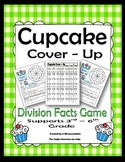 Division Facts Game Cupcake Cover-Up