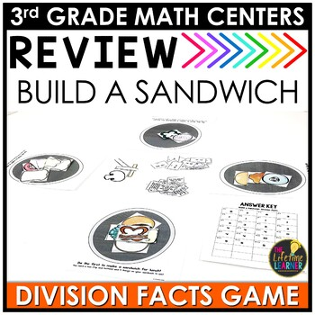 Division Facts Game July Math Center