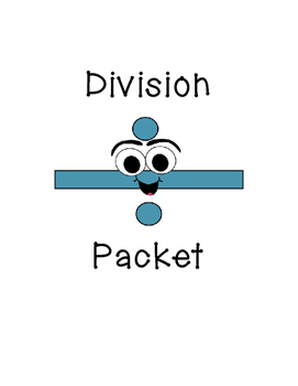 Division Basic Facts Packet